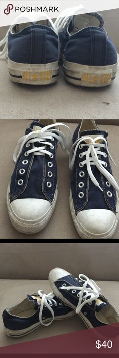 Converse All Star man's shoes. 👟👟👟size 71/2. All Star great condition size color blue. Converse Shoes Athletic Shoes