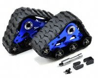 Team Integy Traxxas Rear Snowmobile & Sandmobile Conversion Kit (Blue) [INTT8633BL] | Radio Control - AMain.com