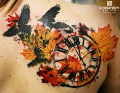We personally love this Tattoo by Timur Lysenko, blending time and nature in a unique way. #DSIGNERWatches #DSIGNERTattoo #since1991 #ILoveMyTime #nature #time #tattoos #tattoed #tattoo #tattooart #art #bodyart #inked #birds #story #caption #win #engraved #watch #watches #contest #luxury