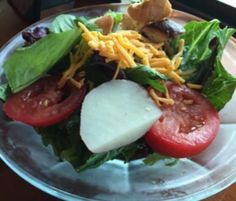 Southern House Salad. This make ahead salad can be served with a meal or take it along to a potluck or tailgating event.