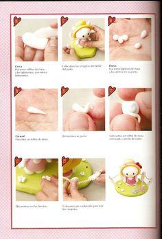 Porcelana Fria 48 margaritas rosas - Silvia Morin - Álbumes web de Picasa