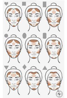 trendy makeup tutorial foundation contouring make up faces Foundation Contouring, Makeup Tutorial Foundation, Contouring And Highlighting, Contour Face, Contour Kit, Contouring Round Face, Highlight Contour Makeup, Face Foundation, Foundation Tips