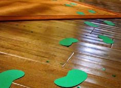 Page 8 - 17 St. Patrick's Day Crafts for Kids I St. Patrick's Day Activities for Kids - ParentMap footprints of a wee little man.