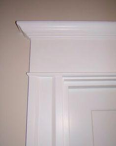 Nice door header