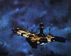 """The Cygnus, from Disney's """"The Black Hole."""" One of the coolest spaceships ever."""