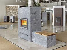 Tulikivi studio at Tammisto has plenty of fireplaces, saunastoves and interior stones. Stoves, Fireplaces, Studios, Interior, Home Decor, Stoves Cookers, Indoor, Fire Places, Design Interiors
