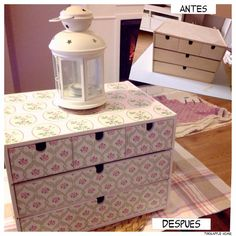 Tuki&Apple Home: Antes y después de una mini cómoda de IKEA