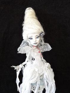 The Ghost of MaRIE ANToINETTE - Monster High doll repaint by Marina OOAK
