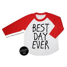 best day ever shirt, birthday shirts, boys birthday shirts, girls birthday shirts, unisex birthday shirts, hipster kids, birthday outfits by PartyTees on Etsy https://www.etsy.com/listing/293385161/best-day-ever-shirt-birthday-shirts-boys