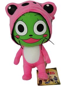 You have to have this, if your a Fairy Tail fan! Frosch, Exceed cat, plush, so cute!