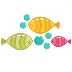 Cute Fish SVG file for scrapbooking free svg files cute fish svg file cute svg cuts fish cutting files Beach Clipart, Cute Clipart, Fish Rocks, Cute Fish, Animal Decor, Painted Rocks, Digital Scrapbooking, Projects To Try, Paper Crafts