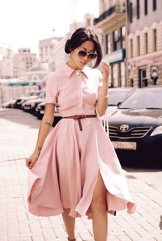 Simple pink dress #BeautyforBreastCancer #FragranceNet #MillionDollarShoppersAndrea