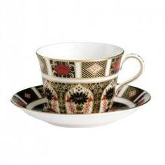 Old Imari - Šálek a podšálek na čaj