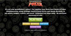 Enjoy Grandmaster Poker, its free & amazing!