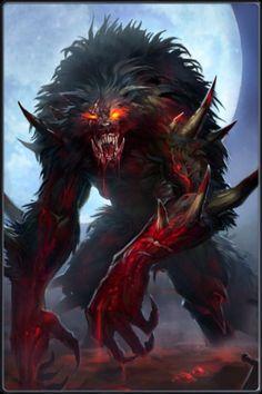 Resultado de imagem para werewolf claws concept art