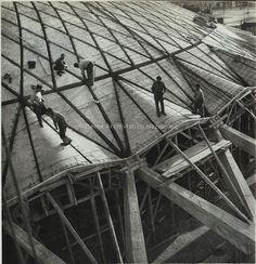 Roma, Palazzetto dello Sport, Pier Luigi Nervi, 1956-1957