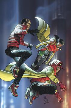 We Are Robin #11 Variant Cover by John Romita, Jr. & Danny Miki