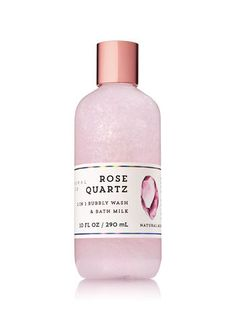 Signature Collection Rose Quartz 2-in-1 Bubbly Wash & Bath Milk - Bath And Body Works