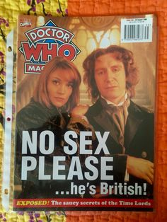 From my private collection Doctor who Magazine # 268 (08-26-1998)- i was very excited to meet Matt Smith and offer him one of my magazines, he chose this one 😁