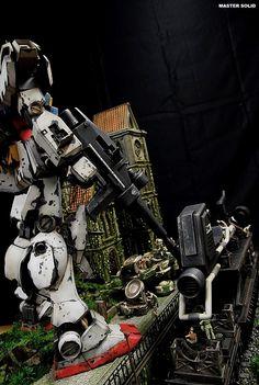 1/35 RX-78-2 Gundam Ver. Ka [Season Part 1] - Diorama Build     Modeled by Master Solid