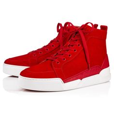8a8681ad2c5d Rankick Flat Loubi Suede - Men Shoes - Christian Louboutin