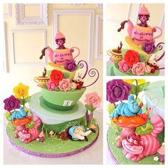 Alice cake by A Wish and A Whisk cakes
