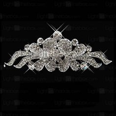 Unique Alloy With Rhinestone Flying Butterfly Bridal Tiara