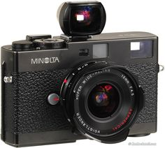 The Minolta CLE i got at Map Camera