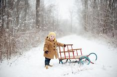 One-Year photos in the snow