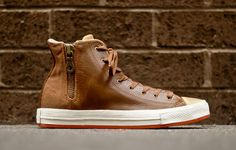 Converse Chuck Taylor Hi Premium Zip | Brown