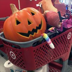 Many may have gone just a bit overboard leading to Halloween Holiday Returns At Target. But unfazed, the Halloween Pumpkin smiles on and laughs off. Halloween Pumpkins, Picnic, Target, Holiday, Fiestas, Vacations, Holidays, Picnics, Picnic Foods