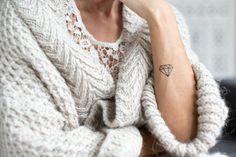 Temporary Tattoo by FONRY %u2013 Diamant