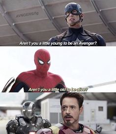 """Peter wouldn't say that though.. or he would and he'd be like """"oh my gosh, Mr America, I am so sorry I really didn't mean it!!"""" But then he'd tell need"""