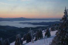 Mt. Spokane ski area in Washington...this looks like a beautiful place to ski!