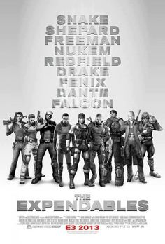 This lineup is missing a few folks.    Kratos,  Master Chief (John 117),  Sam Fisher,  Captain Price,  Anyone from Soul Calibur or Tekken, and those were just a few off the top of my head. Who would you like to see in a gaming version of The Expendables?