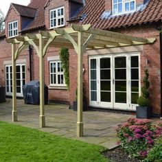 Randi Manufactured Wood Pergola Garden Wood Pergola