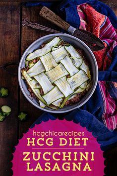 hCG Diet Beef Recipe: Zucchini Lasagna with canned tomatoes Hcg Diet Recipes, Diet Dinner Recipes, Beef Recipes, Healthy Recipes, Vegetarian Recipes, Potato Recipes, Vegetable Recipes, 800 Calorie Diet, Very Low Calorie Diet
