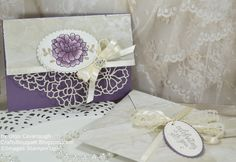 Falling In Love Wedding Card and Envelope