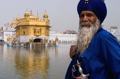 """Sikhism. One of the major religions in India. Sikhism emerged in 16th-century India in an environment heavily permeated with conflicts between the Hindu and Muslim religions. Its founding teacher, Guru Nanak Dev, was born in 1469 to a Hindu family. His most famous saying was, """"There is no Hindu, there is no Muslim, so whose path shall I follow? I shall follow the path of God."""" Today, there are about 23 million Sikhs worldwide, making Sikhism the fifth largest religion in the world."""