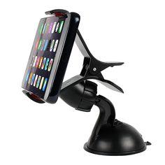 Universal Car Phone Holder GPS Basamento 360 di Rotazione Regolabile Dashboard Parabrezza Supporto Del Telefono Mobile Per il iphone 5 6 Plus Samsung