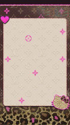 Hk wallpaper on We Heart It Glam Wallpaper, Wallpaper Shelves, Heart Wallpaper, Cute Wallpaper Backgrounds, Pretty Wallpapers, Designer Wallpaper, Iphone Wallpapers, Wallpaper Lockscreen, Hello Kitty Iphone Wallpaper