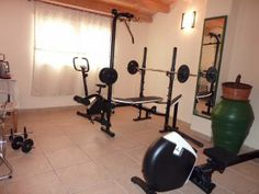 M s de 25 ideas incre bles sobre sala de gimnasio en casa - Gimnasios en casa ...