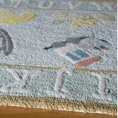 Found it at Wayfair - Classic Baby Blue Kids Rug
