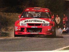Una del Lancer Evo VI de Tommi Mäkinen i Risto Mannisenmäki al RallyRACC Catalunya-Costa Brava de 1999. Espectacular