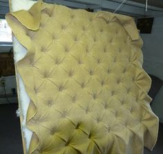 Practical Upholstery: Upholstered walls