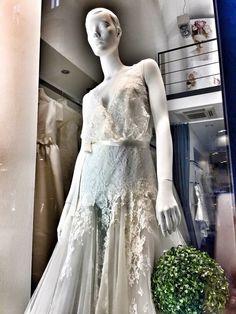 Tulle Sposa Torino via Mazzini 4/F Lace Wedding, Wedding Dresses, Torino, One Shoulder Wedding Dress, Tulle, Fashion, Moda, Bridal Dresses, Alon Livne Wedding Dresses