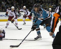 Thornton was awesome against the Columbus Blue Jackets on 1/31/12