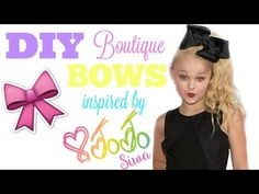 """Folds! Tutorial for folding 8"""" boutique southern JoJo style bows - YouTube"""
