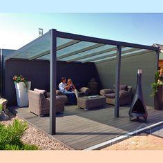 Wolnostojąca weranda Gardendreams z dachem poliwęglanowym 400 cm