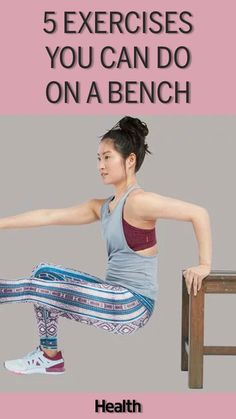 When you're traveling and need to exercise, just find a bench. These are the five best bench exercises to perform on the go. For the five best on-the-go exercises, check out these moves for a bench routine.